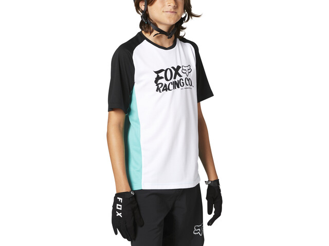 Fox Defend Kurzarm Trikot Jugend teal